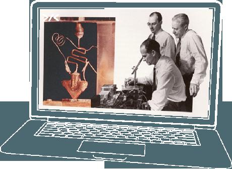 Clube de Computação - O primeiro transistor foi inventado no Bell Labs em 16 de dezembro de 1947, por William Shockley, John Bardeen e Walter Brattain